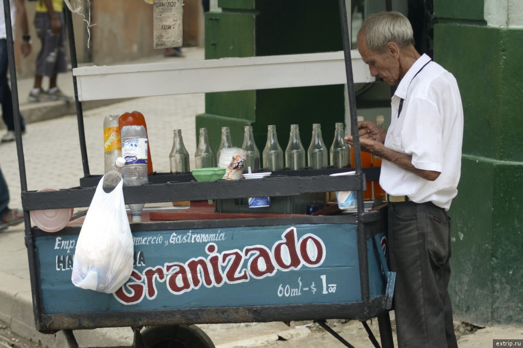 Продавец напитков