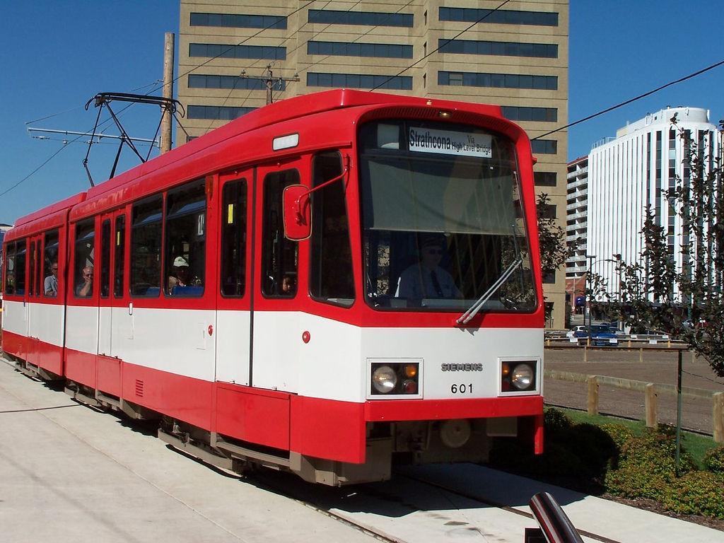 Скоростной трамвай LRT
