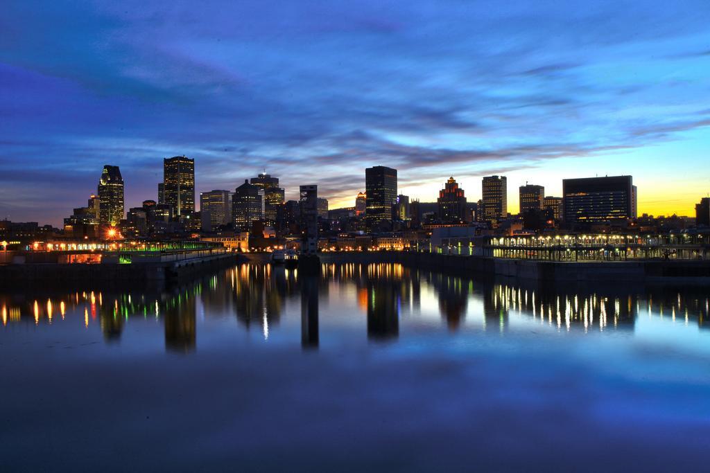 Монреаль на закате