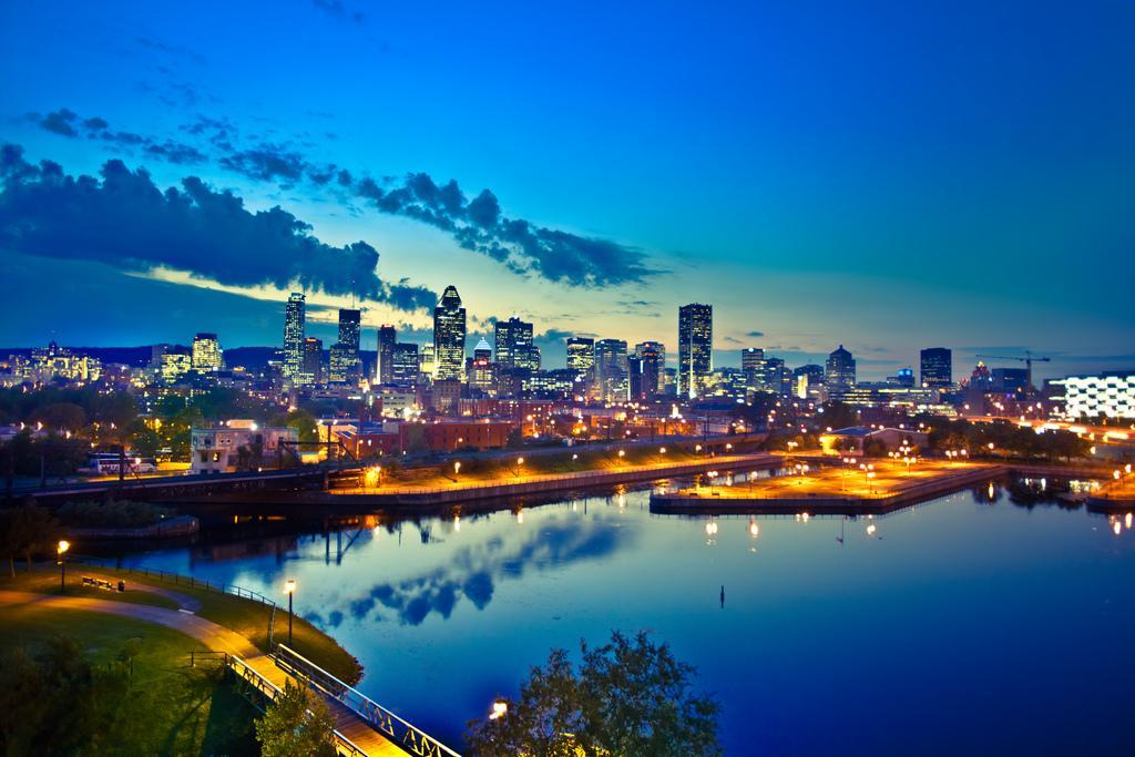 Панорама Монреаля