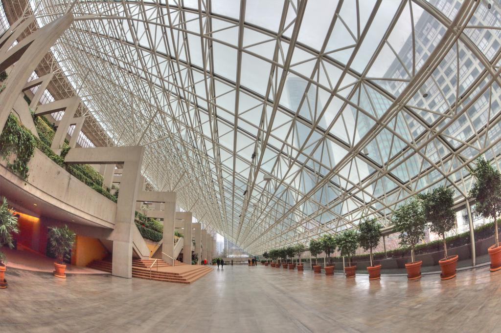 Интерьер здания суда Ванкувера