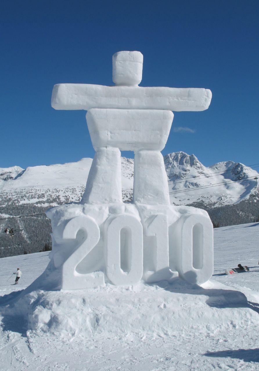 Инукшук - символ зимней Олимпиады 2010