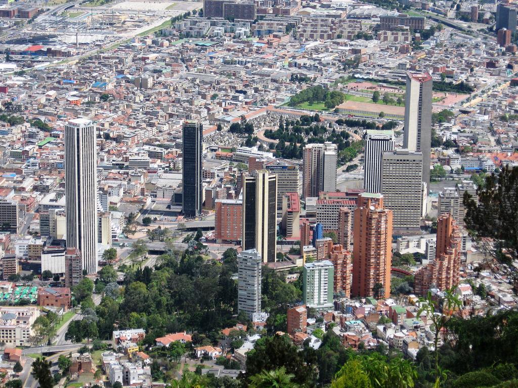 Панорама Боготы