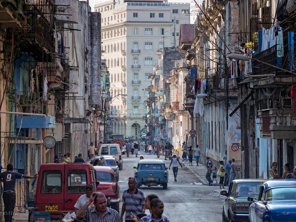 Городские улицы