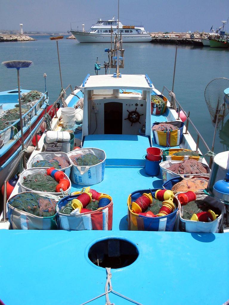 Лодка в порту
