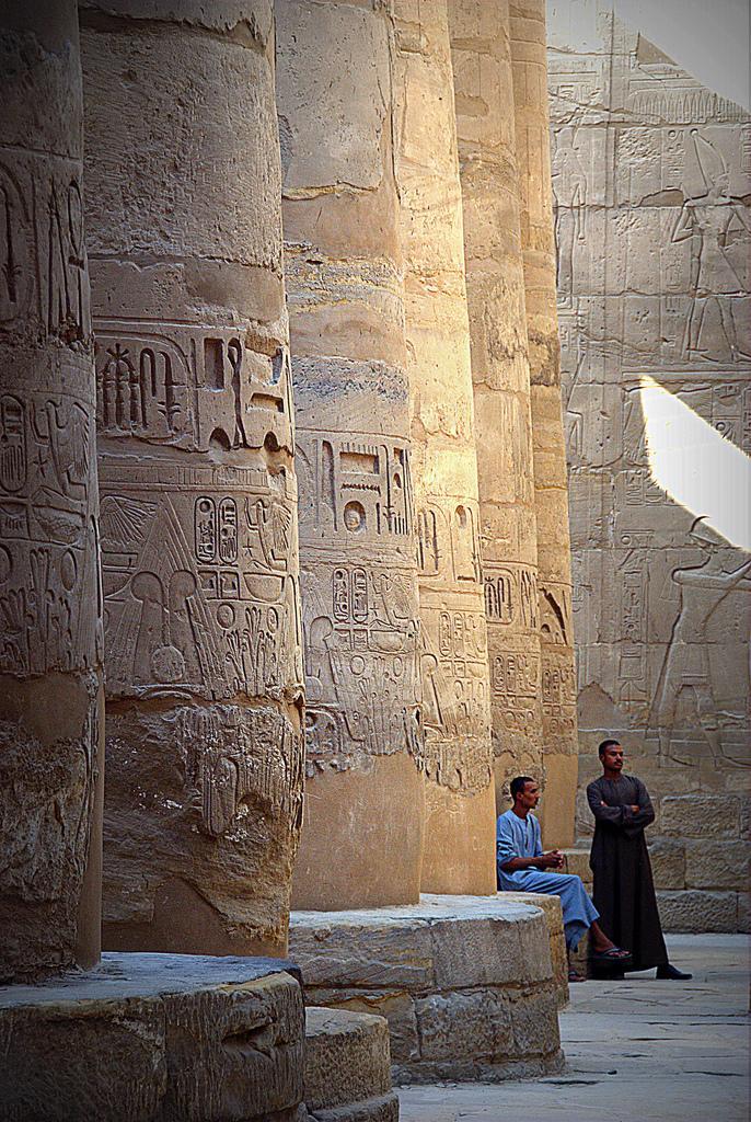 Колоннада в Луксоре