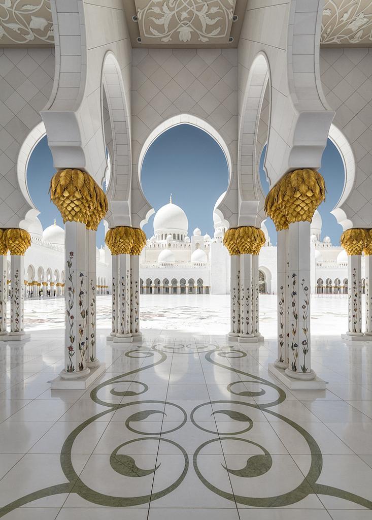 Белая мечеть (Sheikh Zayed Grand Mosque)
