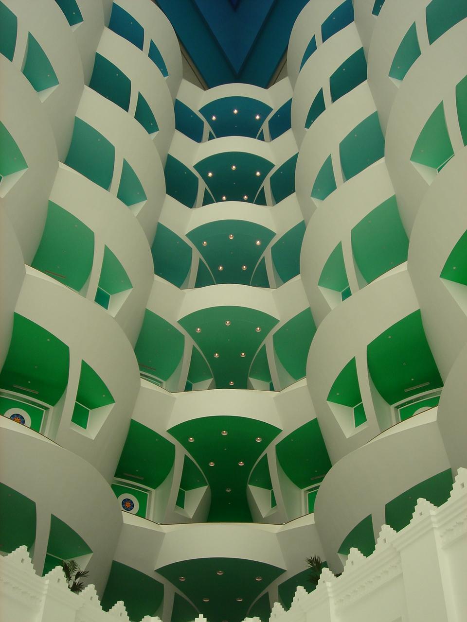 Отель Бурж Аль Араб внутри