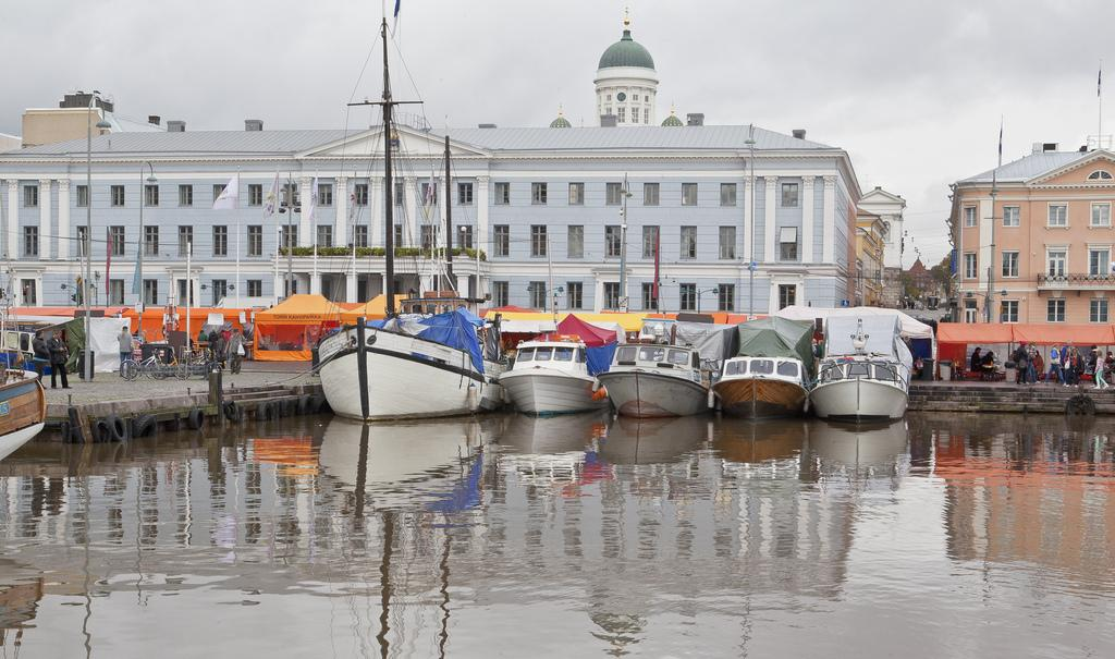 Набережная Хельсинки