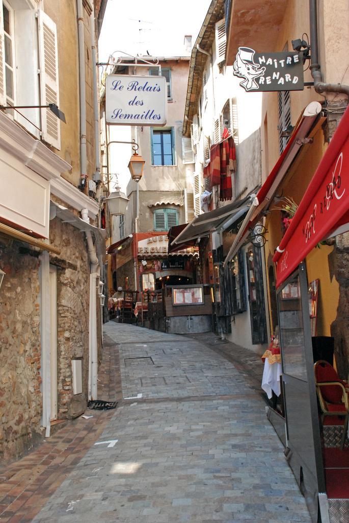 Улочки старого города Канны