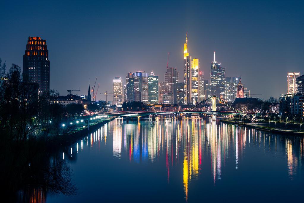 Ночной Франкфурт