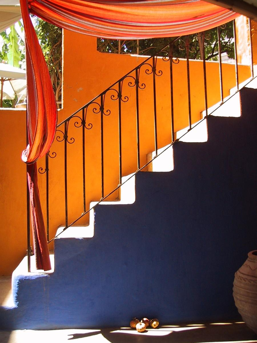 Лестница в Старом городе Родоса