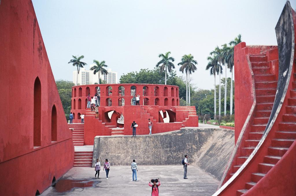 Обсерватория Джантар-Мантар в Дели