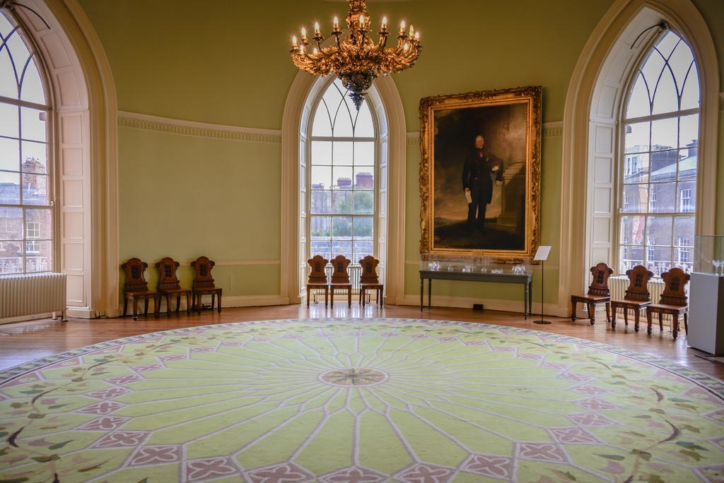 Интерьер Дублинского замка