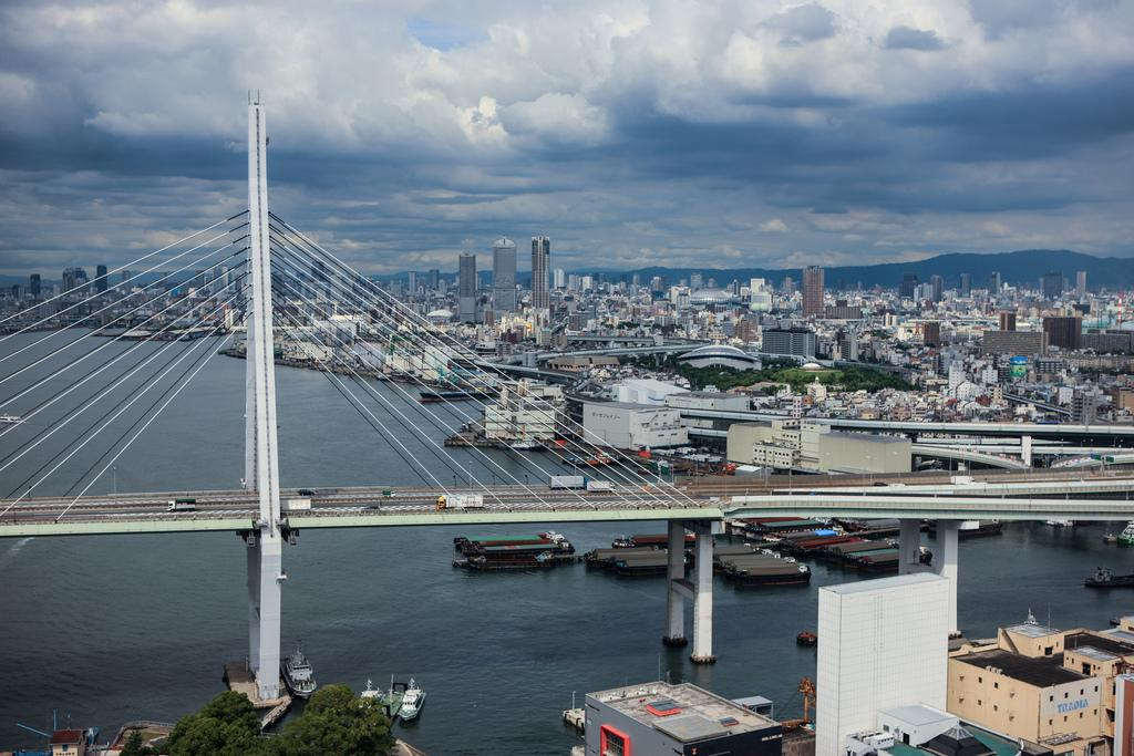 Панорама Осаки