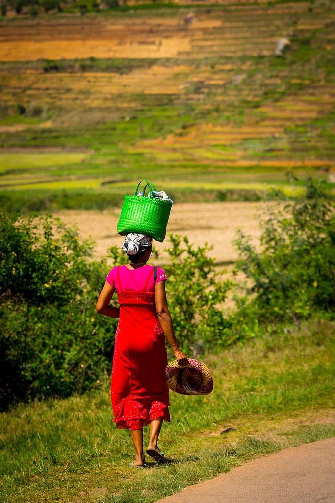 Женщина с Мадагаскара