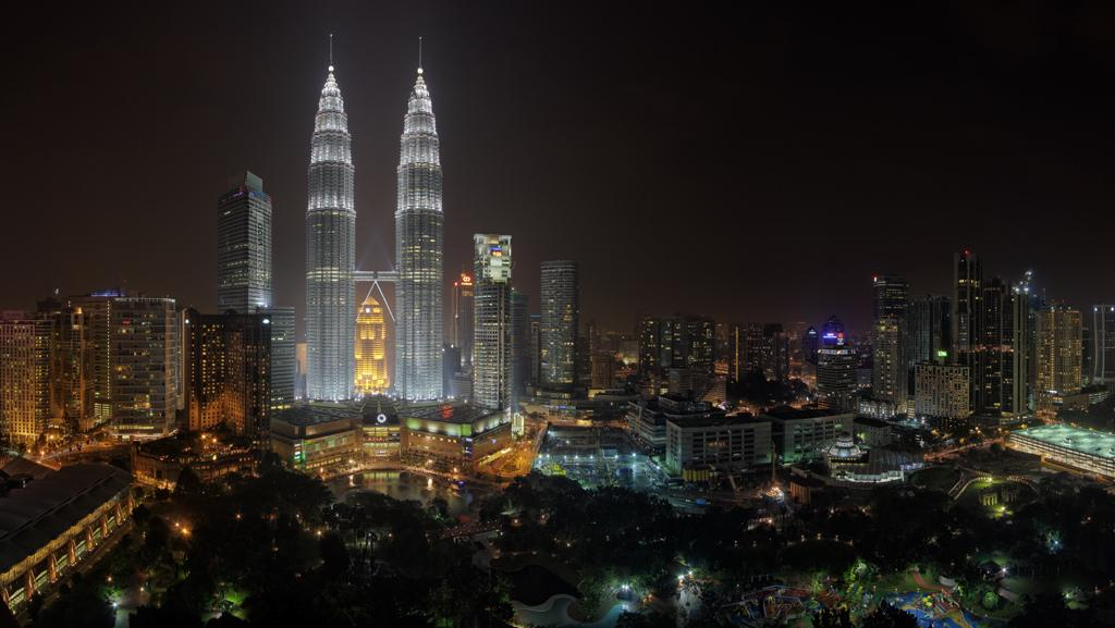 Вечерняя панорама