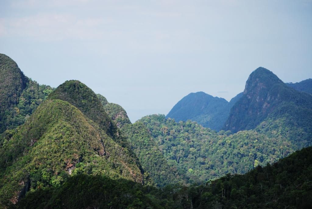 Горы острова лангкави