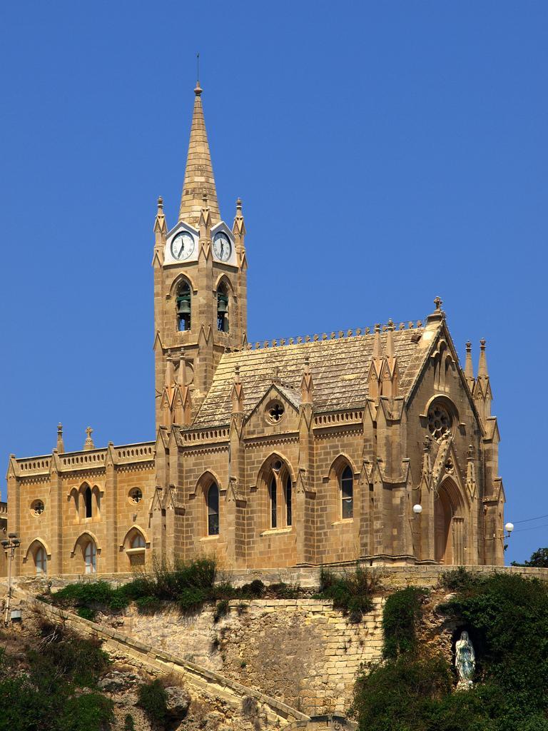 Церковь в городе Мгарр