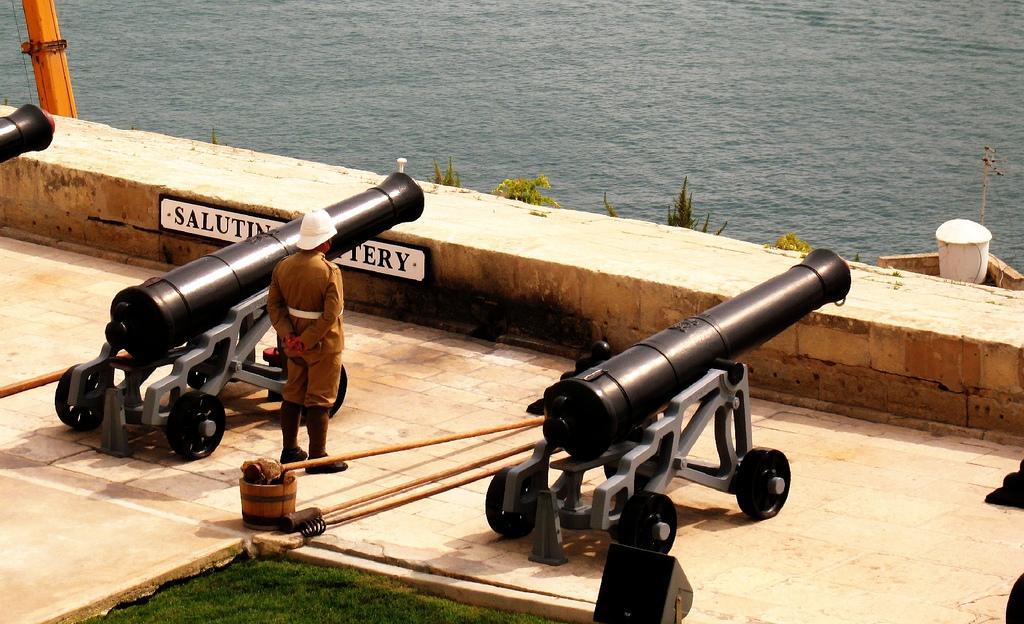 Крепостные орудия