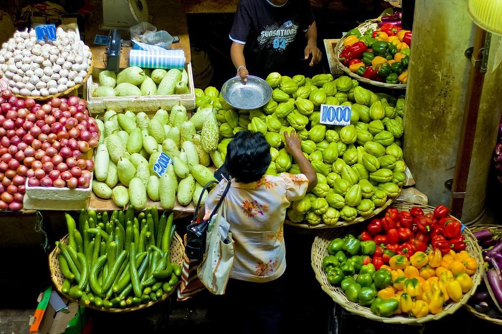 Центральный рынок в Порт-Луи