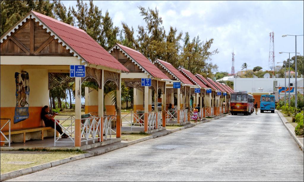 Автовокзал в Порт Матурен