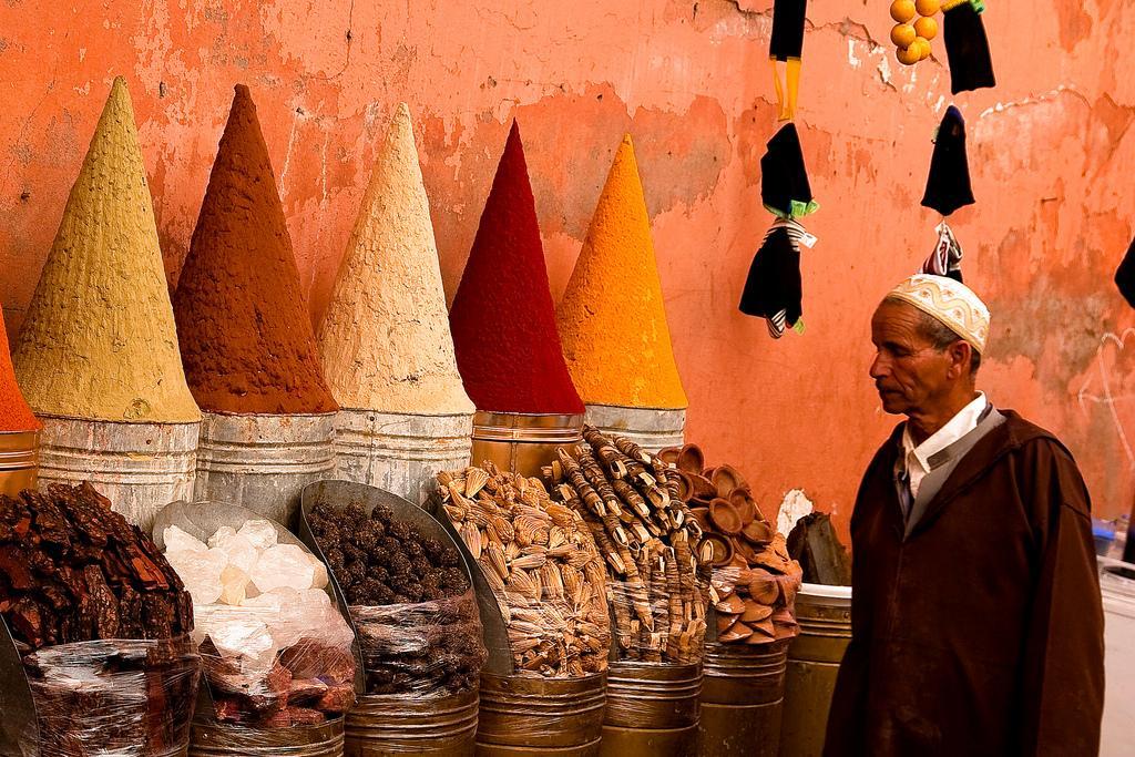 Специи на базаре Марракеша