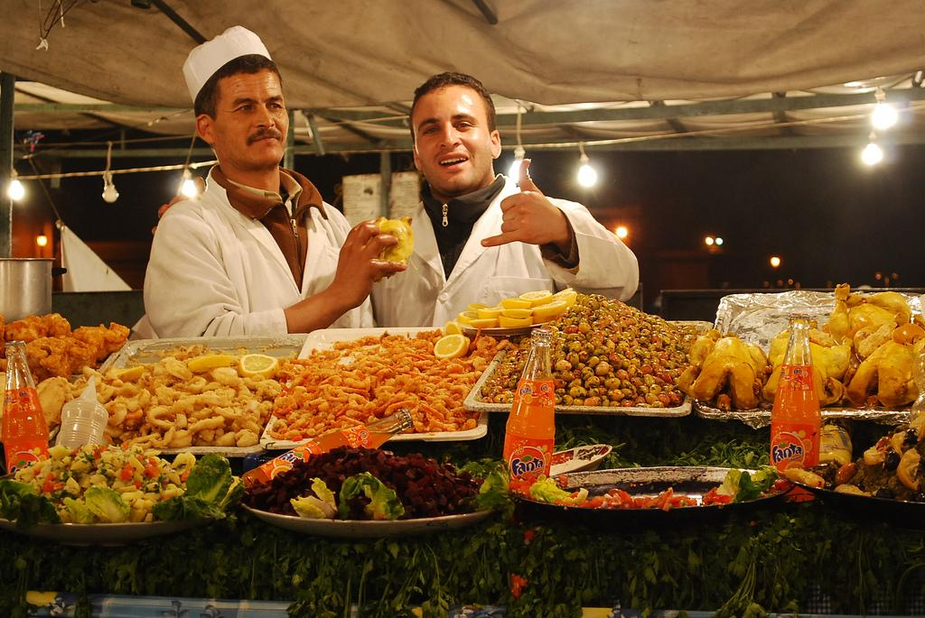 Продавцы еды