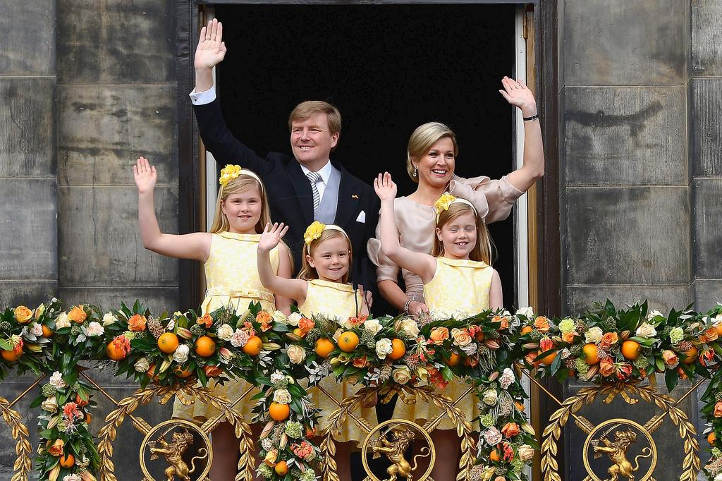 Король и королева Нидерландов