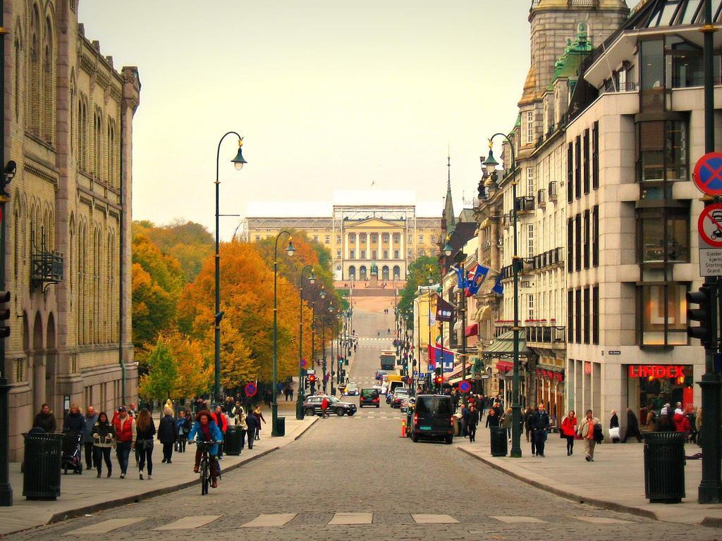 Улицы Осло