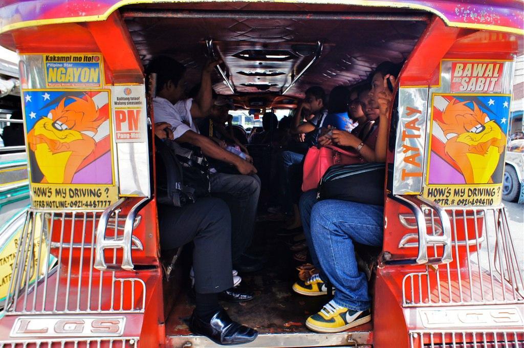 Внутри Jeepney