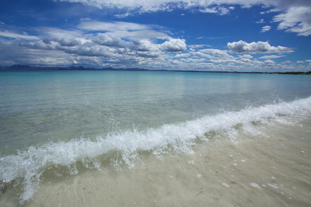 Пляж города Алькудиа