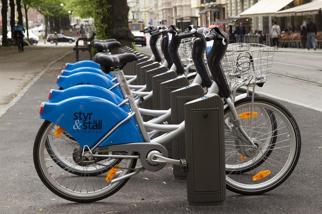 Прокат велосипедов в Гетеборге