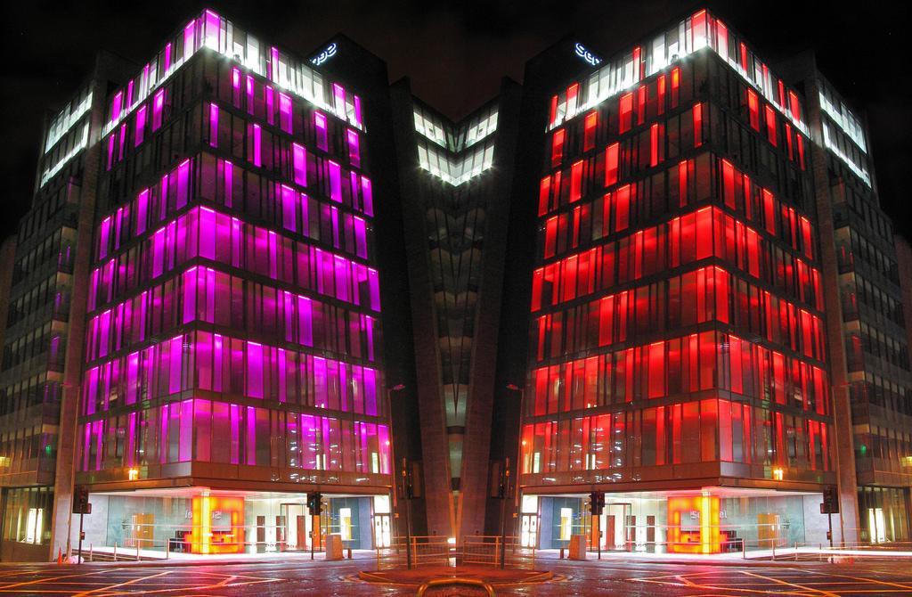 Район красных фонарей