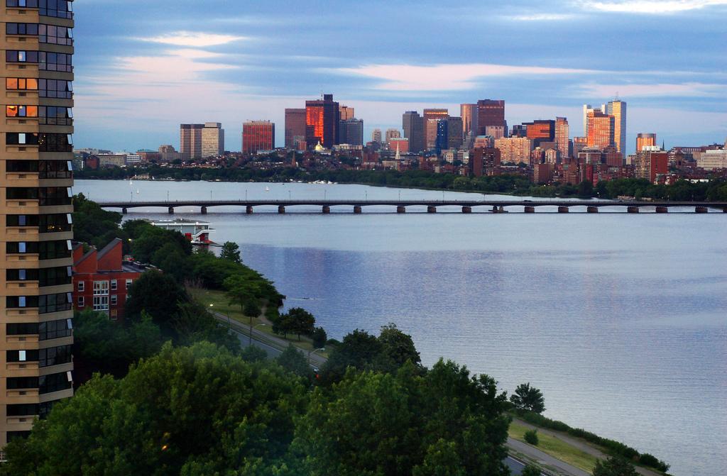 Панорама Бостона