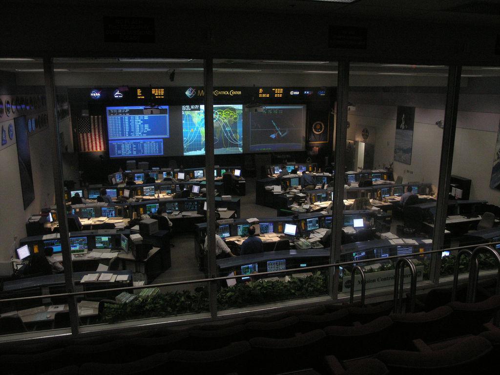 Центр управления полетами в Хьюстоне