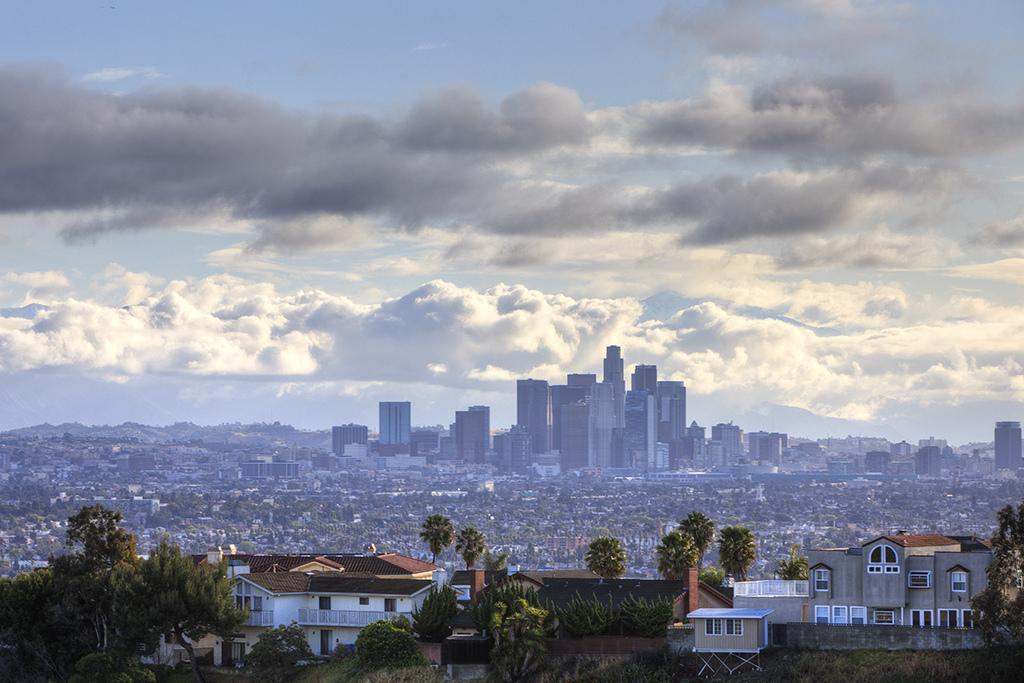 Вид на Лос-Анжелес