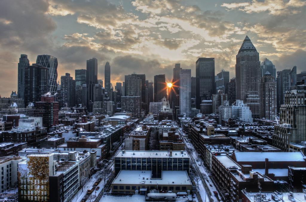 Зимний Манхэттен