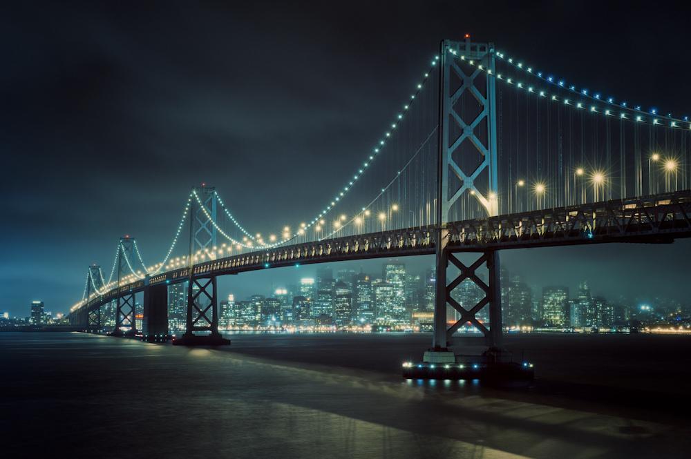 Огни залива Сан-Франциско