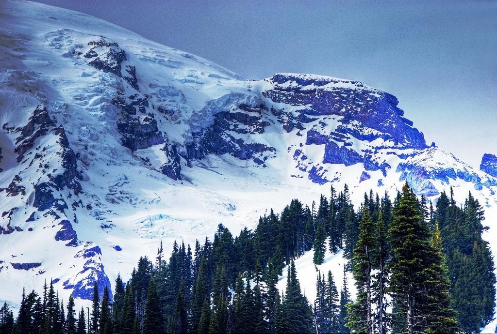 Ледники горы Рэйнир
