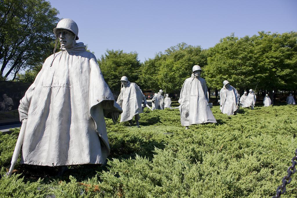 Мемориал ветеранам Корейской войны