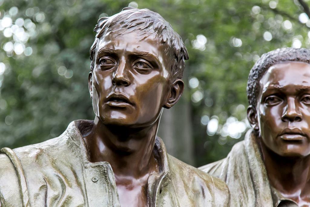 Мемориал ветеранам войны во Вьетнаме