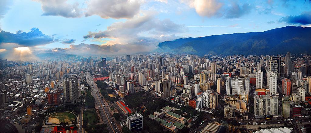 Вид на город с воздуха