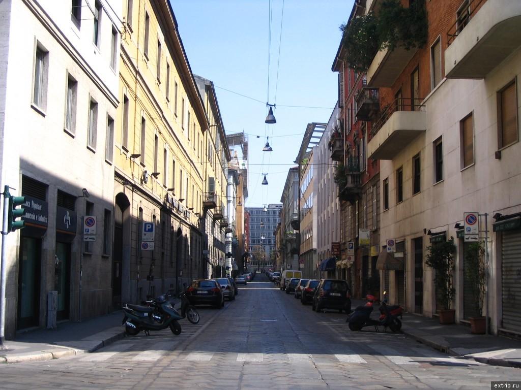 Улицы Милина