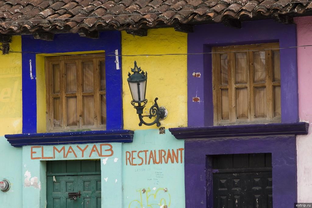 Цветные фасады