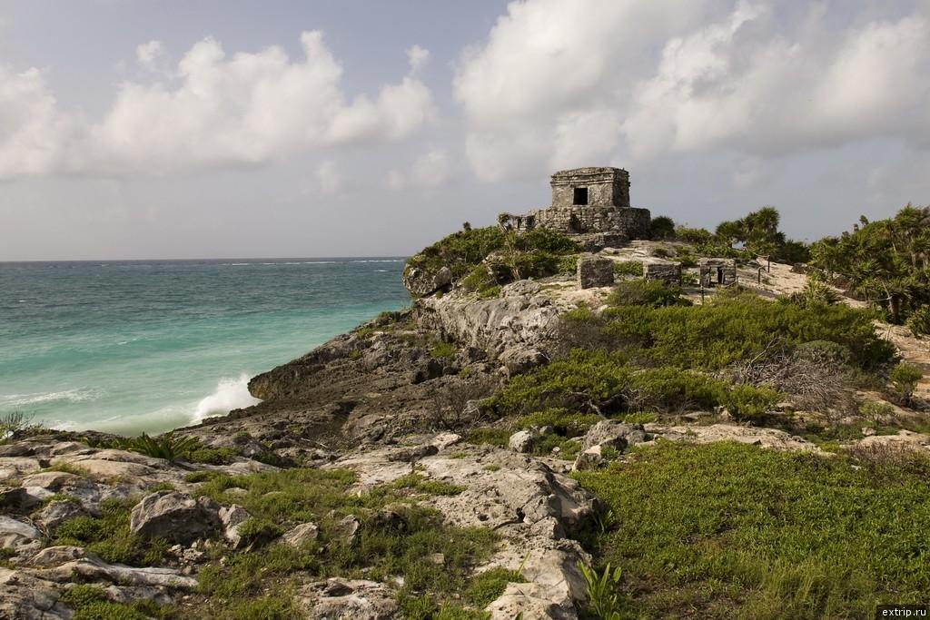 Древний порт майя